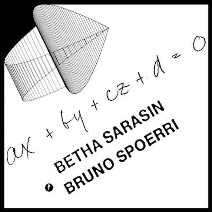 BRUNO SPOERRI AND BETHA SARASIN - AX+BY+CZ+D=0 (aka Kunst Am Computer)